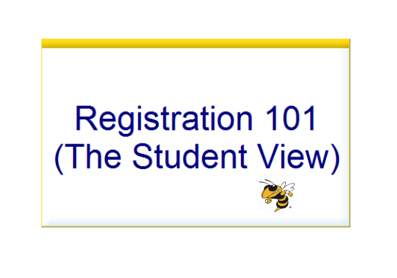 Registration - Student View